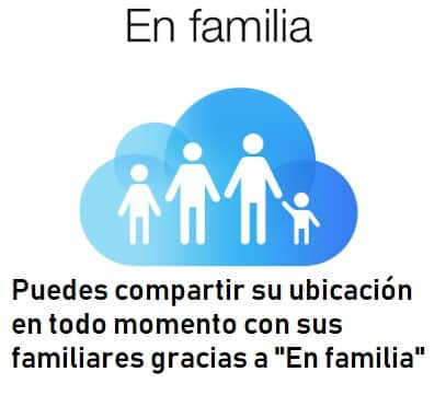 compartir en familia iphone