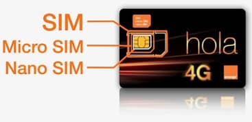 pedir una copia de sim orange