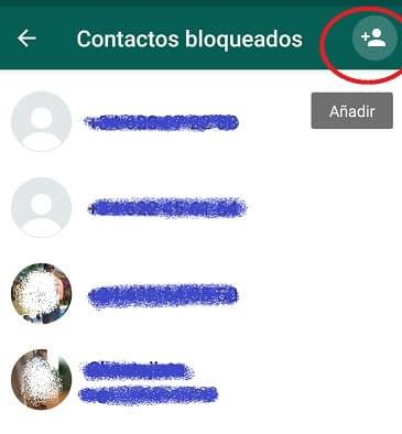 ultimo paso para bloquear a un contacto en whatsapp