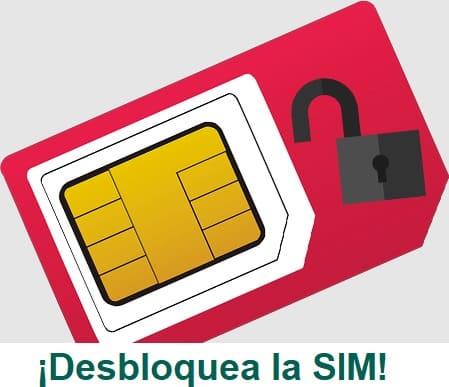 como desbloquear la SIM