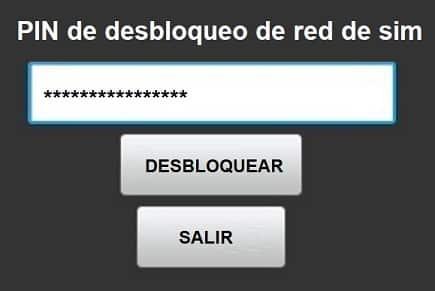 pin de desbloqueo de red