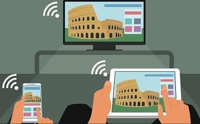 conectarse con el móvil a una smart tv