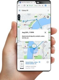 app de samsumg para encontrar telefono