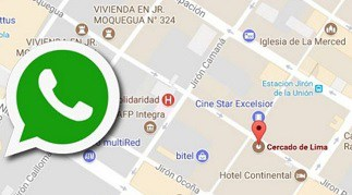 Ubicación Whatsapp